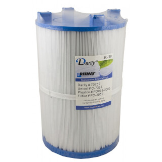 Darlly SC 730 Whirlpoolfilter, Kartusche Ersatztfiler für Dimension One Spas