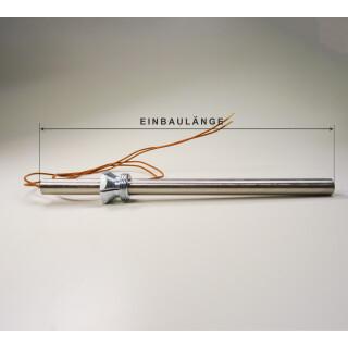 Glühzünder mit Faston, Zündwiderstand für Caminetti und Eldstad 9 kW Pelletöfen, L = 178 mm, Ø = 10 mm