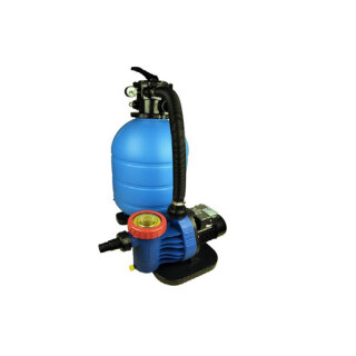 Filteranlage TC 500 mit Pumpe 80