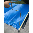 Rollschutzabdeckung 7 m x 3,5 m Rechteck