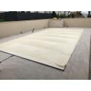 Rollschutzabdeckung 6,23 m x 3,6 m Oval