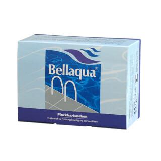 Bellaqua Flockkartuschen, Flockmittel zur Trübungsbeseitigung bei Sandfiltern 8 x 125g